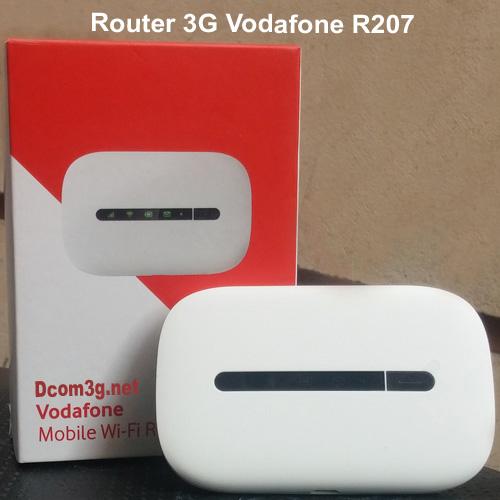 Router 3G Vodafone R207 phát wifi chính hãng mới fullbox