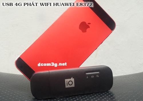 USB 4G Huawei E8372 phát wifi tốc độ cao hàng chính hãng