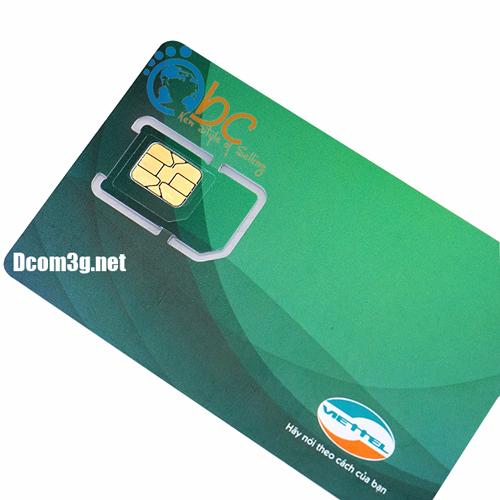 Sim 3G Viettel dung lượng lớn 30Gb/tháng