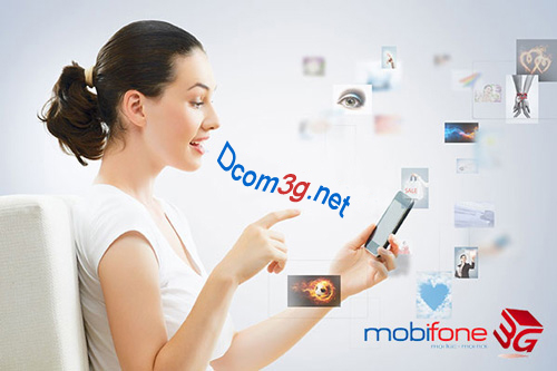 Sim 3G Mobifone Fast Connect DATA khủng 108Gb