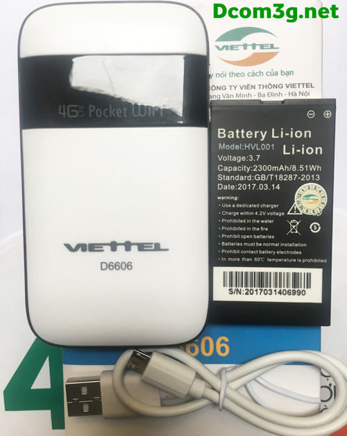 Bộ phát WIFI 4G D6606 hàng chính hãng giá rẻ