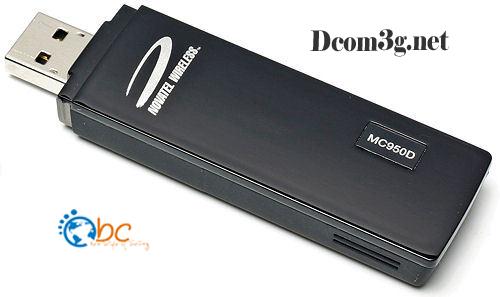 USB 3G Novatel Wireless MC950D chuyên Spam SMS