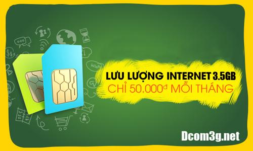 Sim 3G Viettel giá rẻ 42Gb khuyến mãi 12 tháng