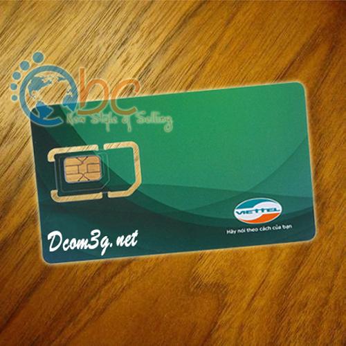 Sim 3G Viettel 2.5Gb/Tháng khuyến mãi 12 tháng liên tục