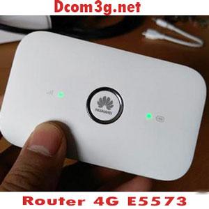 Router 4g phát wifi Huawei E5573 tốc độ cao