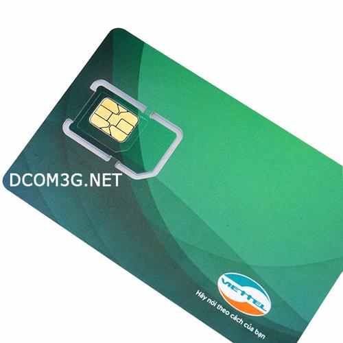Sim 3G Viettel 9Gb bảo lưu 3 tháng có thể nghe gọi
