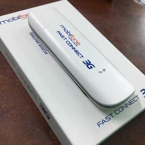 USB 3g Mobifone HU7200 tốc độ 7.2Mbps chạy đa mạng